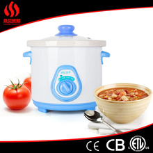 Wholesale Hot Sales ceramic inner pot rice cooker, Automatic Electric Slow Cooker, 1.5L electric slow cooker