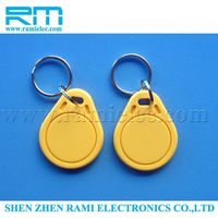 New style hot sell rfid hanging epoxy key tags