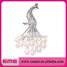 Funny Fashion Rose Gold Mask Brooch ,Rhinestone +Zircon+Alloy , Factory Outlet, OEM/ODM Service