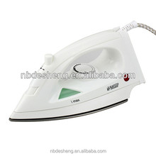 Variable steam setting electric steam iron