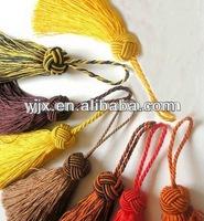 2013multicolored decoration rayon tassel fringe for curtain /car