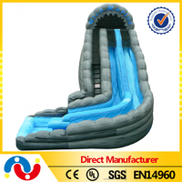 2015 top sale excellent designed inflatable water slide n slip cheap best quallity inflatable water slide with pool