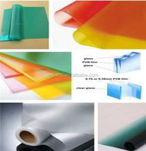 Cheap automotive glass /building glass / solar cells decorative Interlayer pvb film