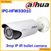 3mp Dahua WDR remote camera cctv with poe alarm IPC-HFW3301C