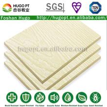 a1 pruebas de velocidad fireproofing de silicato de calcio junta de textura de madera tablero de revestimiento( d)
