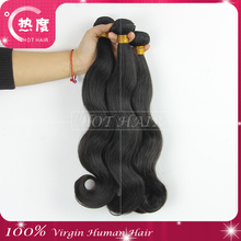 New Products Virgin Human Indian Hair Unprocessed 6A 3pc/lot Body Wave Virgin Indian Hair Wholesale Human Indian Hair Wholesale