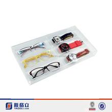 Yageli Acrylic Eyewear Tray For Six Frames Without Lid
