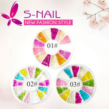 Hot sell fancy nail art pearl steering wheel