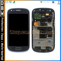 for samsung galaxy S3 mini I8190 lcd screen assembly