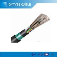Single mode 2 core Direct Buried Optic SM G652d Optic Fiber Cable
