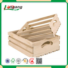 solid wood hot sell wooden fruit crates