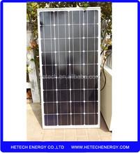 China made100W monocrystalline solar panel price india