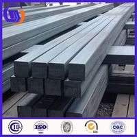 100mm 120mm 130mm 3sp 5sp Q235 Q275 square shape hot rolled alloy square bar with high quality