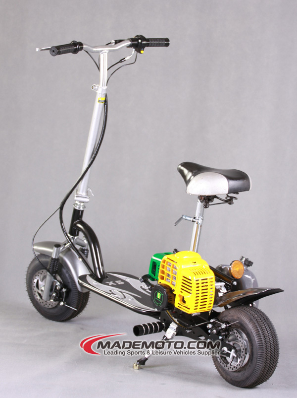 Three Wheels 49cc Gas Scooter For Sale Gas Mini Stand Up
