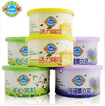 home organization alibaba wholesale OEM aroma Car Air Freshener Gel solid use in toilet cleaning
