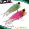 Strongest TPR material, virbation soft lure with rattle, rattle crank bait lure