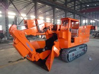 crawler muck loader mini ore moving machine hole digger for sale