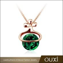 2015 Newest design fashion jewelry 18K gold jewelry in beautiful jewelry display