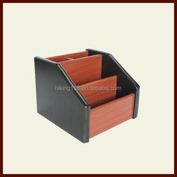High Quality Wood Pencil Box/New Style Pen Holder# HX-1010