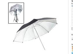 33 inch Flash Light Soft Diffuser Umbrella(Black)