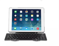 2015 NEW bluetooth keyboard case for Ipad, for Samsung and Window OS Pad, two fold mini keyboard BT