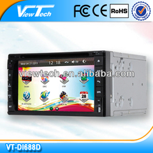 6.2 inch low voltage 2din car dvd and mp4 player