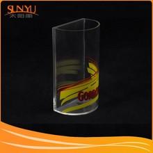 Simple Elegant Transparent Flower Acrylic Stand