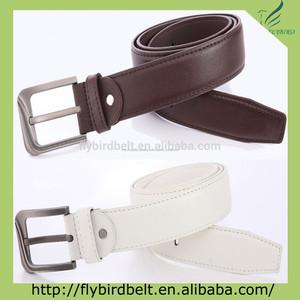 набор из двух коричневый/белый ёенское классический кожаный пояс