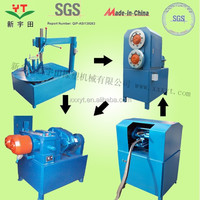 new invention used tire scap recycling machine/wasted tire cutting plant china supplier/tire recycling line