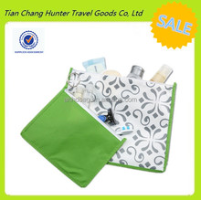 custom fashion bright color cosmetic pouch for travel hanging toiletry bag