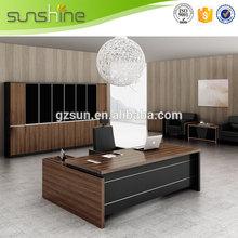 Guangzhou manufacture special discount dongguan stylish executive desk