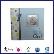Baby recordable photo album with pvc sheets