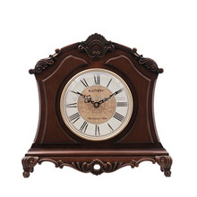 Antique wooden table clock GD403-1