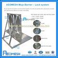 Aluminio ampliable Seguridad Vial Crowd Control Puerta Barrera proveedor en China