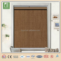 Heat resistance roller blind fabric dimming windows