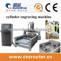 Top notch 4 axis engraving machine