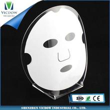 new products manufacturer supplies exquisite acrylic cosmetic display for eyeshadow makeup
