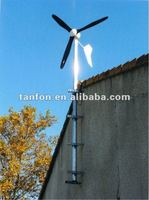 2KW 2000w wind generator system for home use ,all parts take TV, light ,computer , Fridge ,Air -conditioning