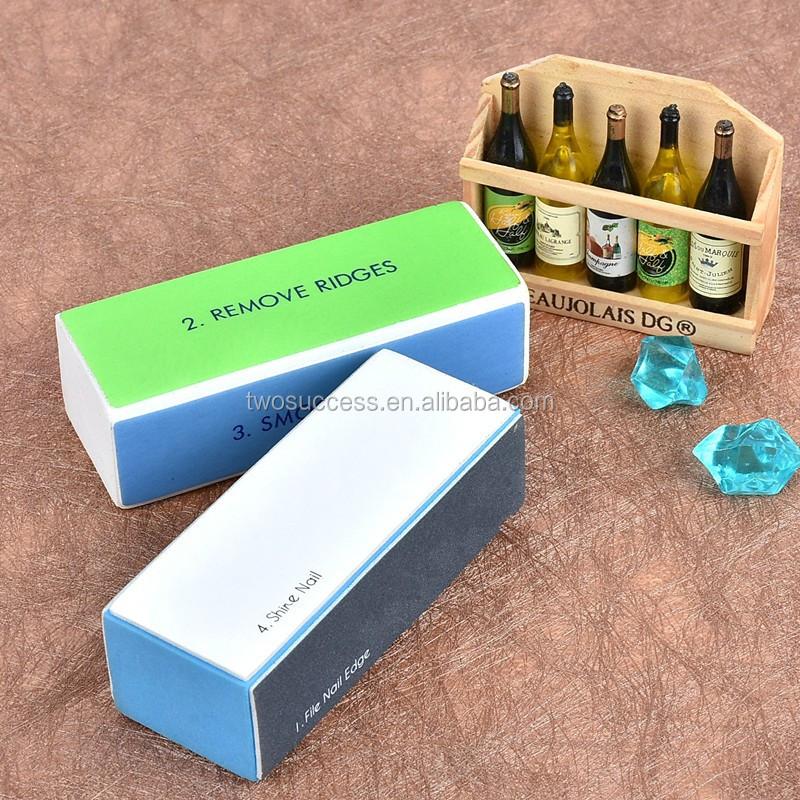 Nail Block,Nail Art Manicure 4 Way Shiner Nail Buffer Block,Mini Nail Buffer Block