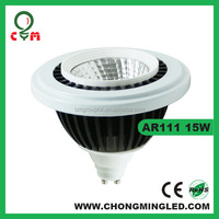 Epistar COB AR111 LED 15W 1250-1350LM Available in G53 GU10 base