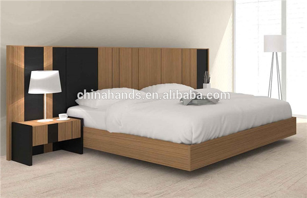 Italian Style Simple Design Wooden Bedroom Furniture Set