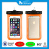 New arrival mobile phone pvc waterproof bag for iphone 6 plus