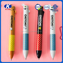 2015 hot sale promotional ball pen/Cartoon plastic ballpoint pen/for school and office