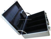 Light weight durable aluminum document case with hard