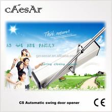 Caesar commercial exterior aluminum swing doors mechanism/automatic swing door operator double open/automatic swing door system