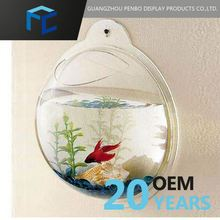 Promotional Price Small Order Accept Customized Logo Printed Acrylic Wall Fish Tank