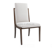 The geometric patterned Lattice fabric on the Upholstered Host Chair/fabric chair upholstered chair price