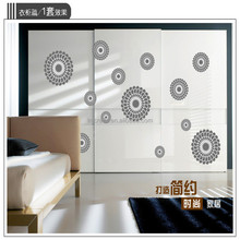 Special design Large Size Circle Combination Wall Sticker Sofa Background & Abstract Circle Window Glass Decor stickers AY9038