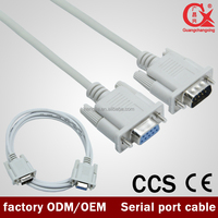 OEM/ODM 3m M-F serial port line rs232 serial parallel adapter High Quality DB9 cable