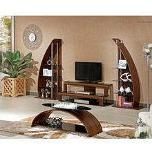 High Quality Wooden Lcd TV Stand Design/Glass TV Stand